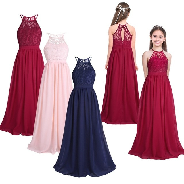 Feeshow Summer Girls Dress Children's Clothing Party