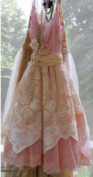 Feminine Pink Lace X | Vintagekleid, Hübsche Kleider