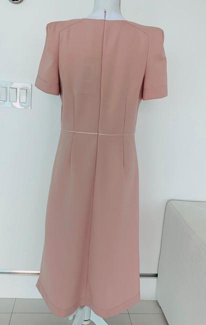 Fendi Jersey Kleid Rose Midlength Casual Maxi Dress Size