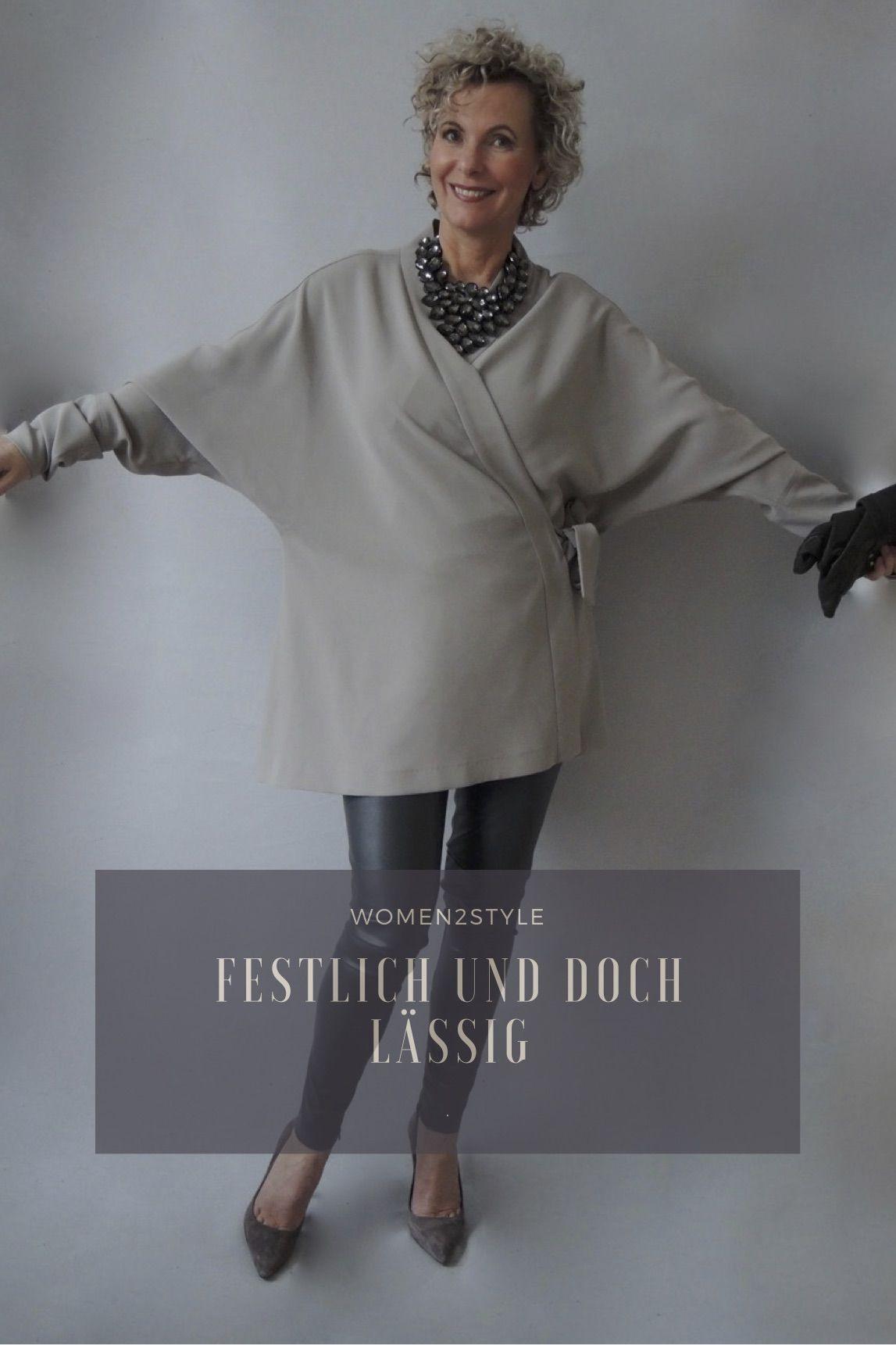 Festlich Es Outfit Ganz Lässig  Festliche Kleidung Damen