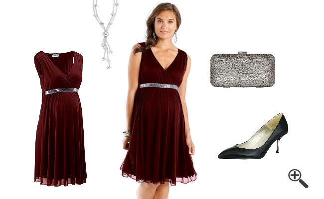Festliche Kleider Für Schwangere Zur Hochzeit Jasmins
