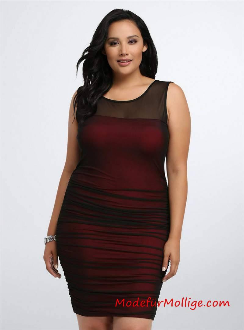 Festliche Kleider Große Größen Für Weihnachten  Mode Für