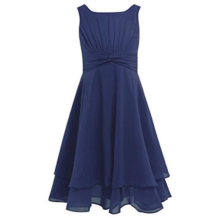 Festliche Kleider Kinder Hochzeit Blau
