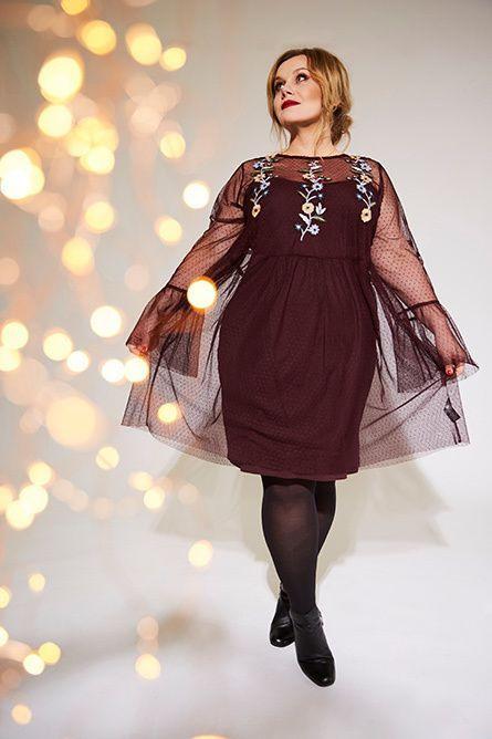 Festliche Mode Für Große Größen Und Mollige → Weihnachten