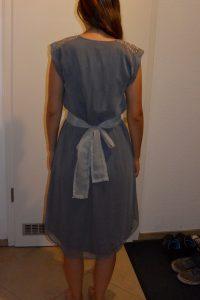 Festliches Kleid Grau Mit Pailletten Hochzeit Abiball