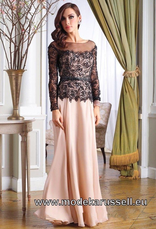 Festliches Langarm Abendkleid 2019 Abendkleider Elegant
