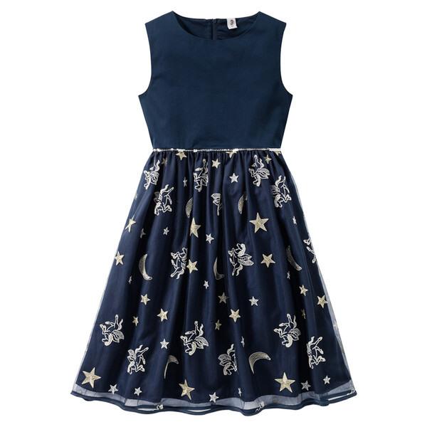 Festliches Mädchen Kleid Mit Stickerei Von Ernstings