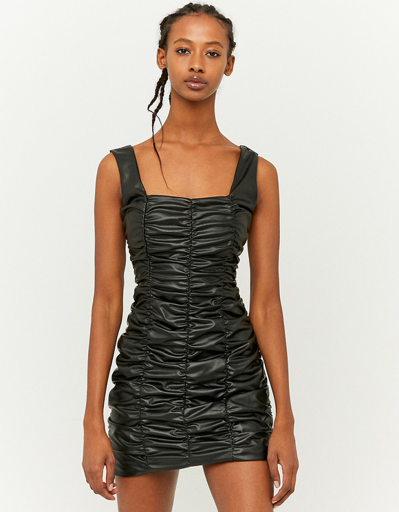 Figurbetontes Gerafftes Kleid  Tally Weijl Online Shop