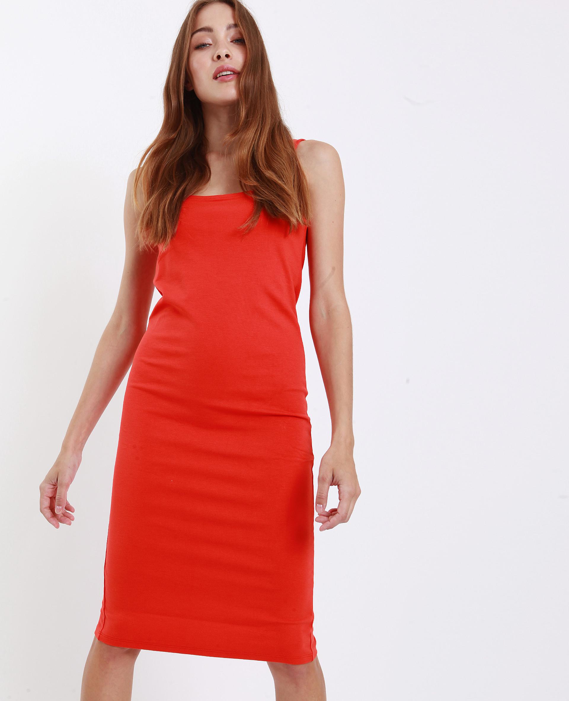 Figurbetontes Kleid Orange  781247117A03  Pimkie