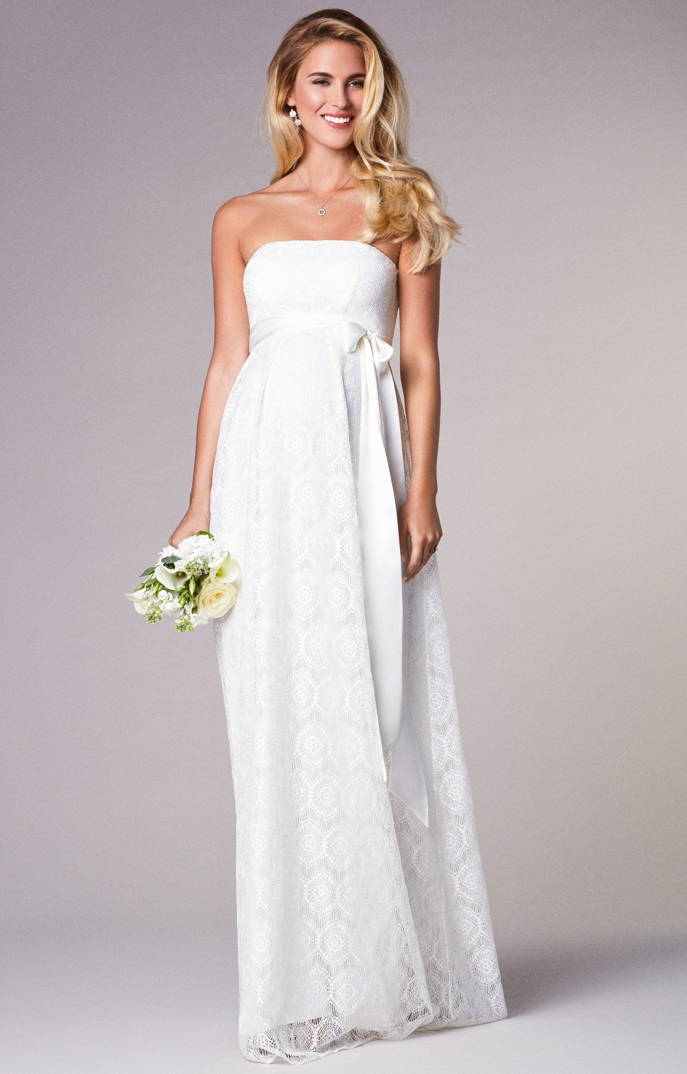Find The Perfect Maternity Wedding Dress 10 Tips For