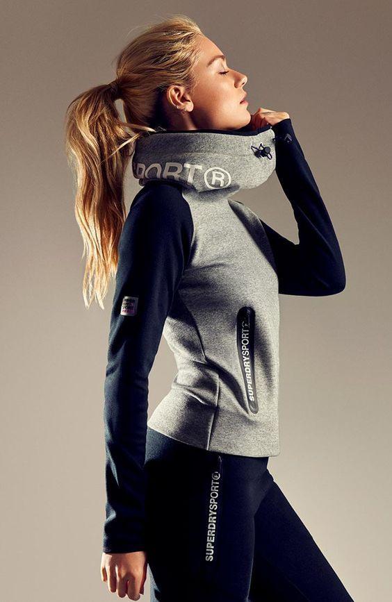 Fitnessoutfits Für Damen  Superdry Sportswearkollektion