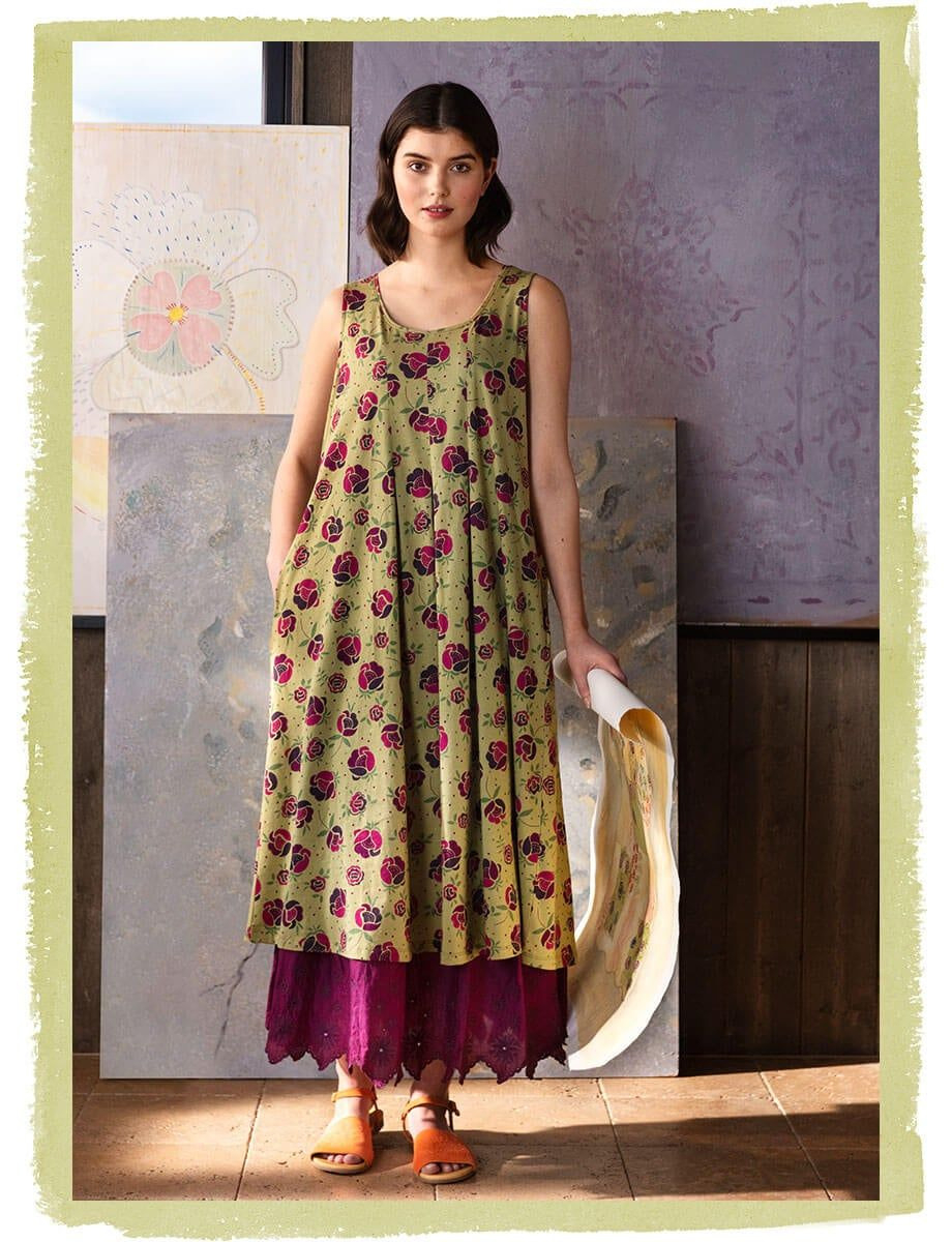 Floral Dresses In Organic Cotton Collection Summer 2020