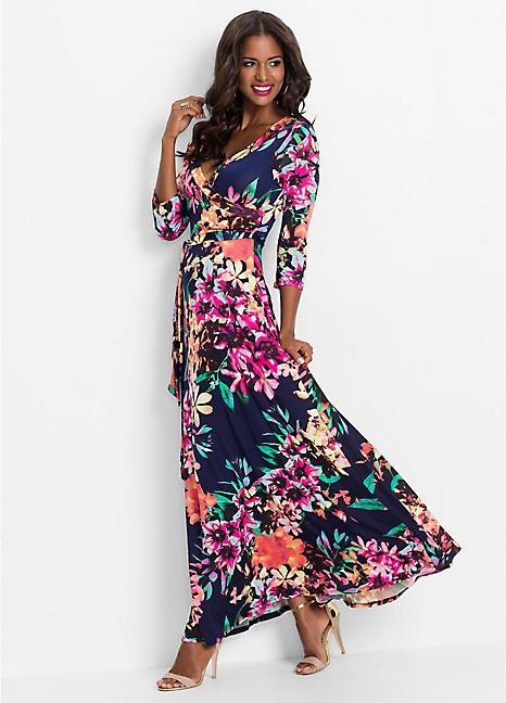 Floral Maxi Dressbodyflirt Boutique  Bonprix