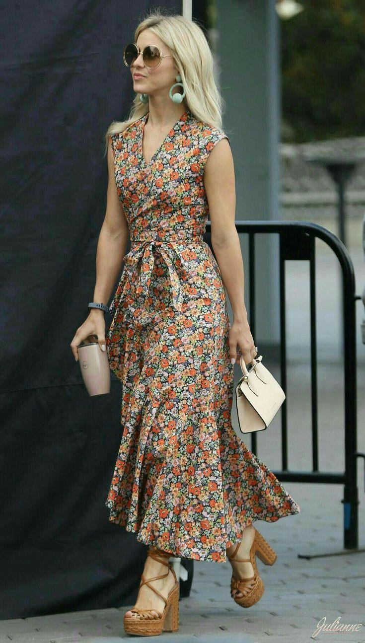 Floral Print Boho Dress Bohodresses In 2020  Boho Kleid