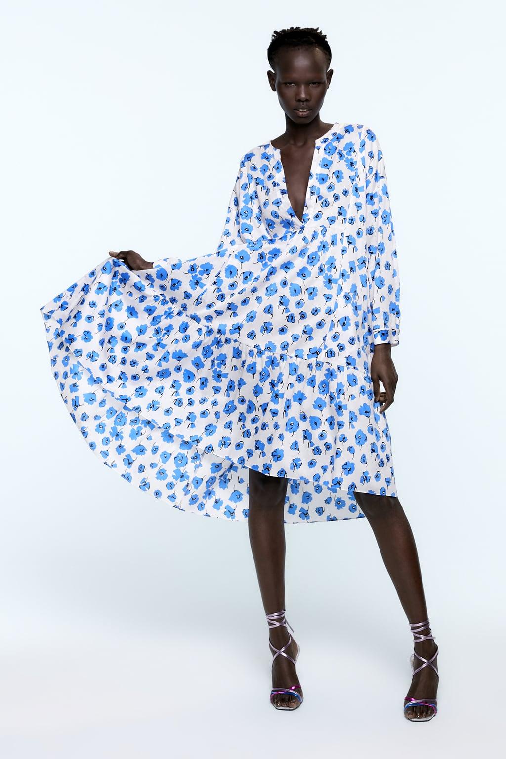Floral Print Dress  View Alldresseswoman  Zara United