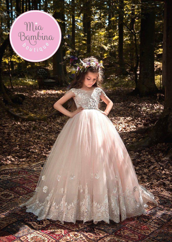 Flower Girl Dresses Bergamo  Brautkleider Für Kinder