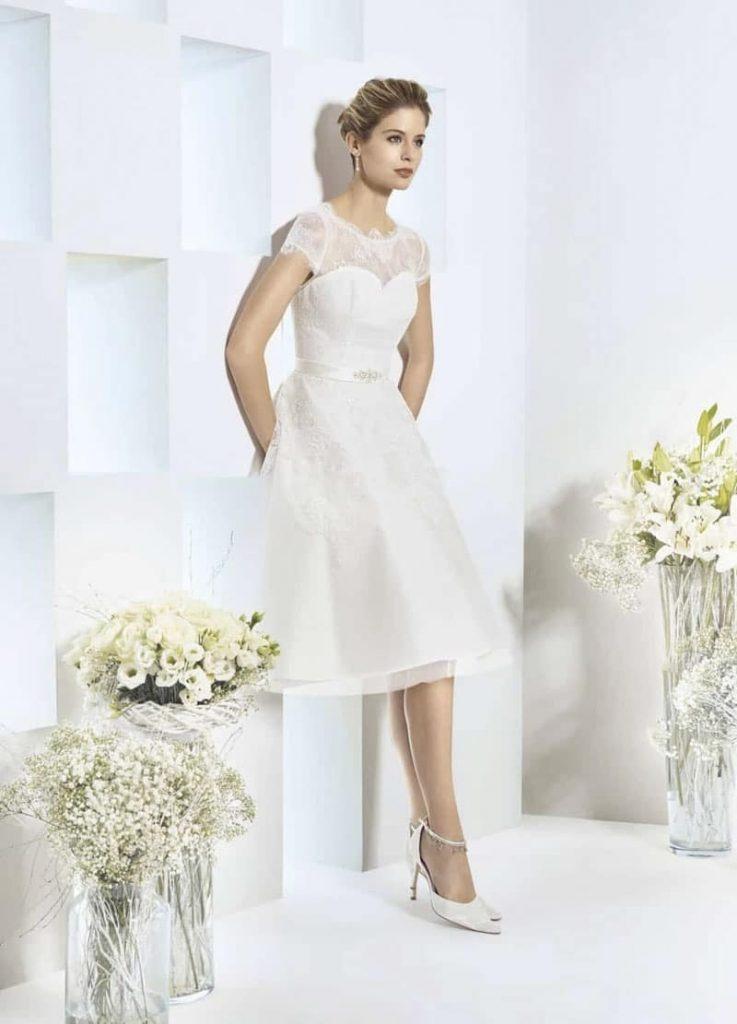 Formal Ausgezeichnet Standesamtkleider Für Die Braut Für