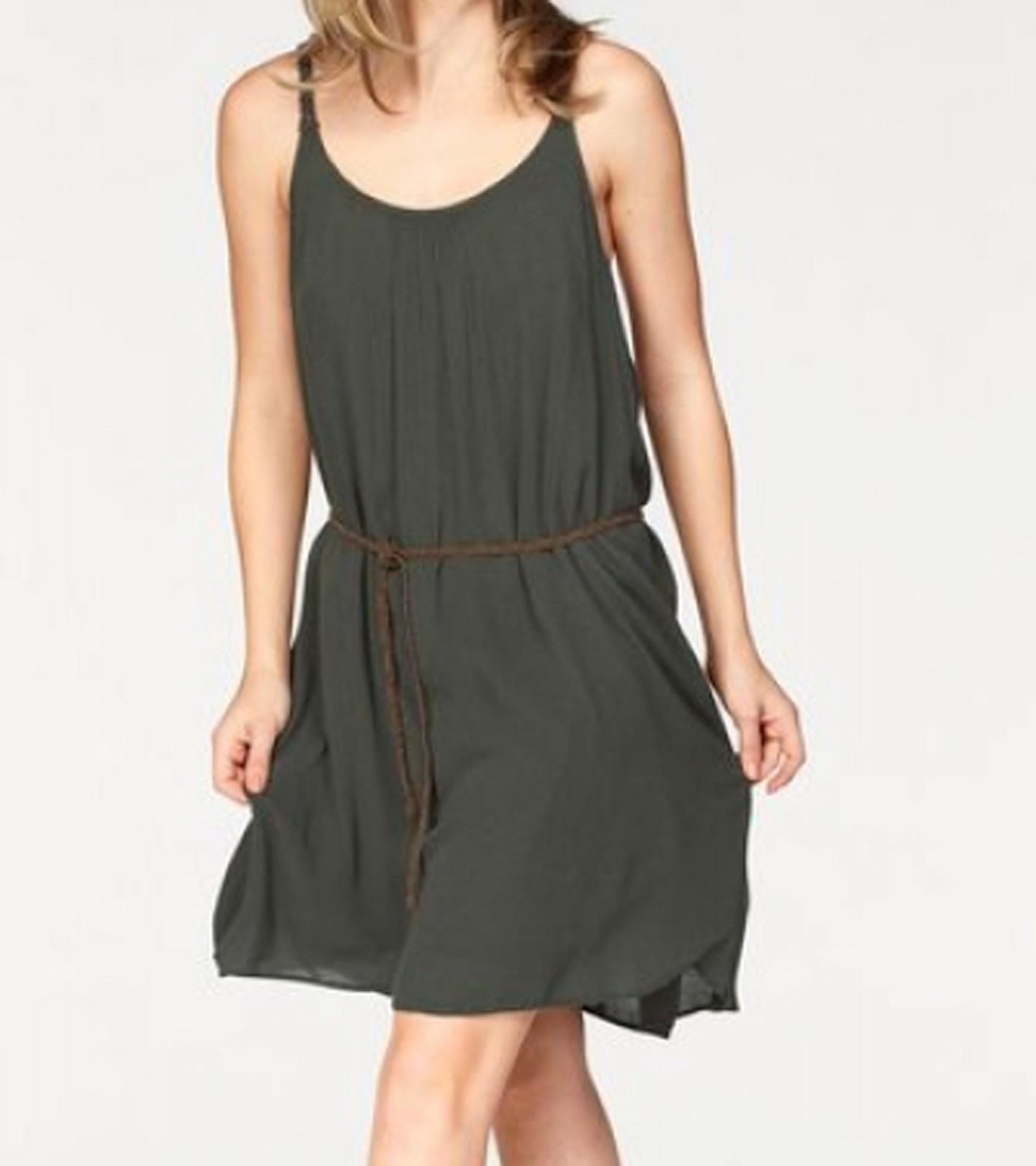 Formal Coolste Kleid Olivgrün Spezialgebiet  Abendkleid