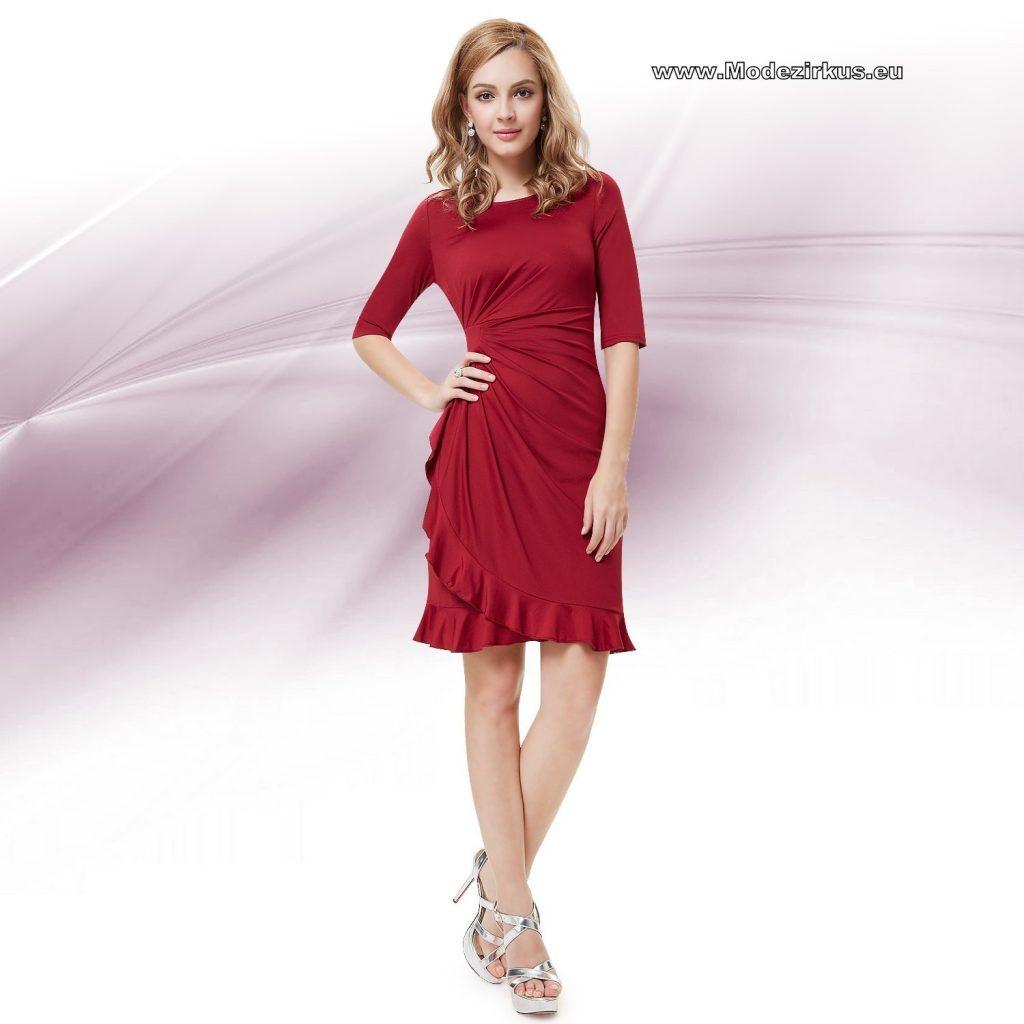 Formal Elegant Rotes Enges Kleid Design  Abendkleid