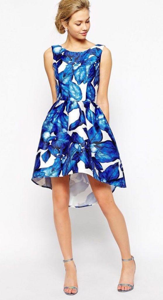Formal Erstaunlich Kleider Für Hochzeitsgäste Blau Für