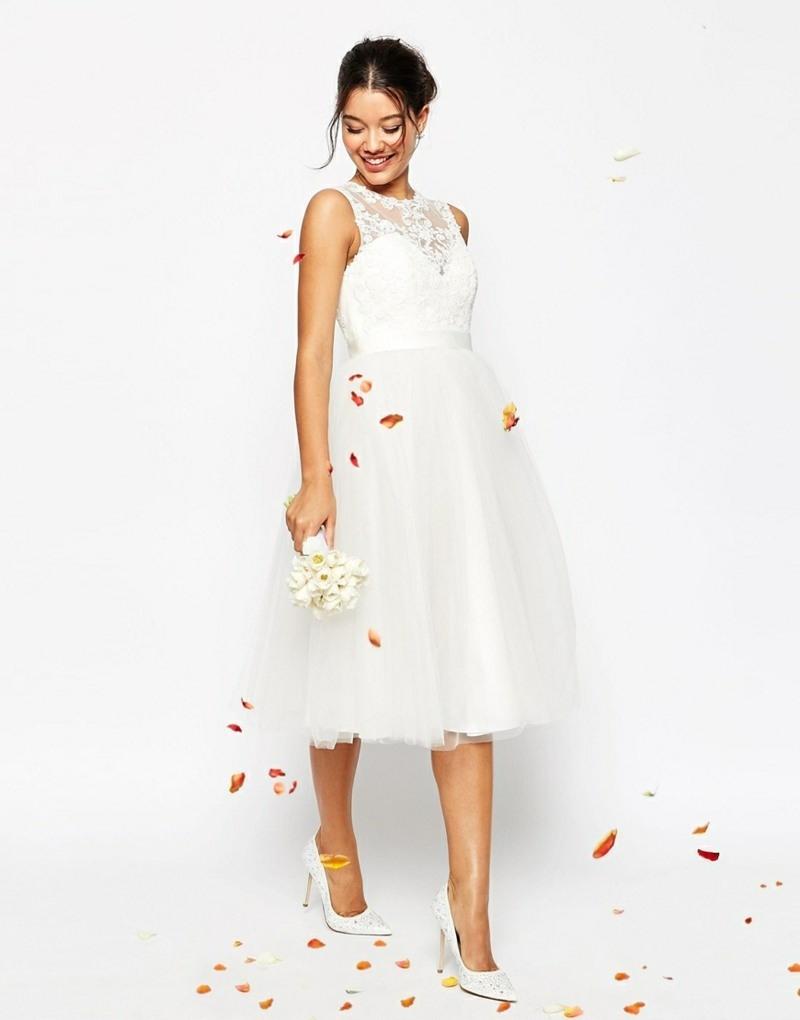 Formal Schön Kleid Altrosa Knielang Für 2019  Abendkleid