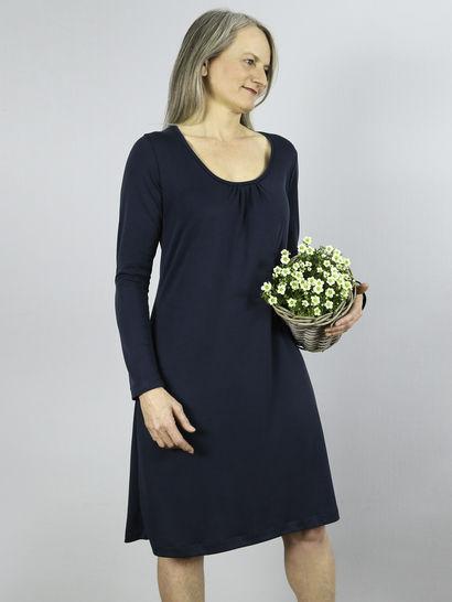Frau Vlieland  Kleid Mit Rundhalsausschnitt Bei Makerist