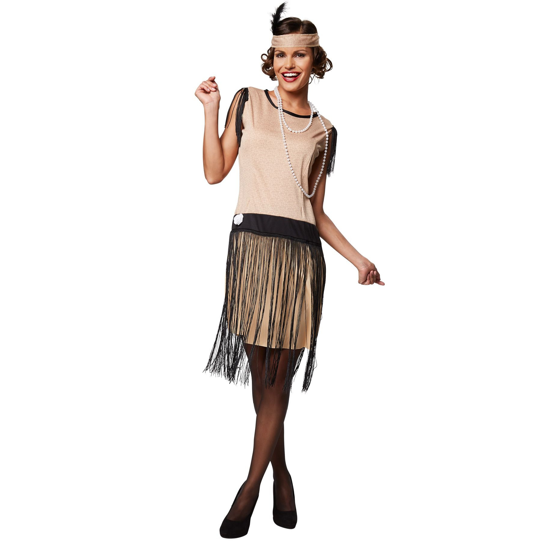 Frauenkostüm Charleston 20Er Jahre Kleid Mottoparty
