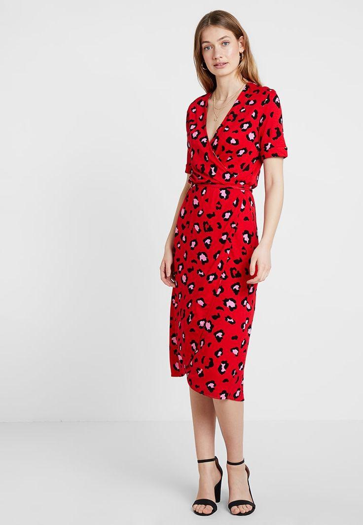 Freequent Jerseykleid  Tomato/Rot  Zalandode  Kleider
