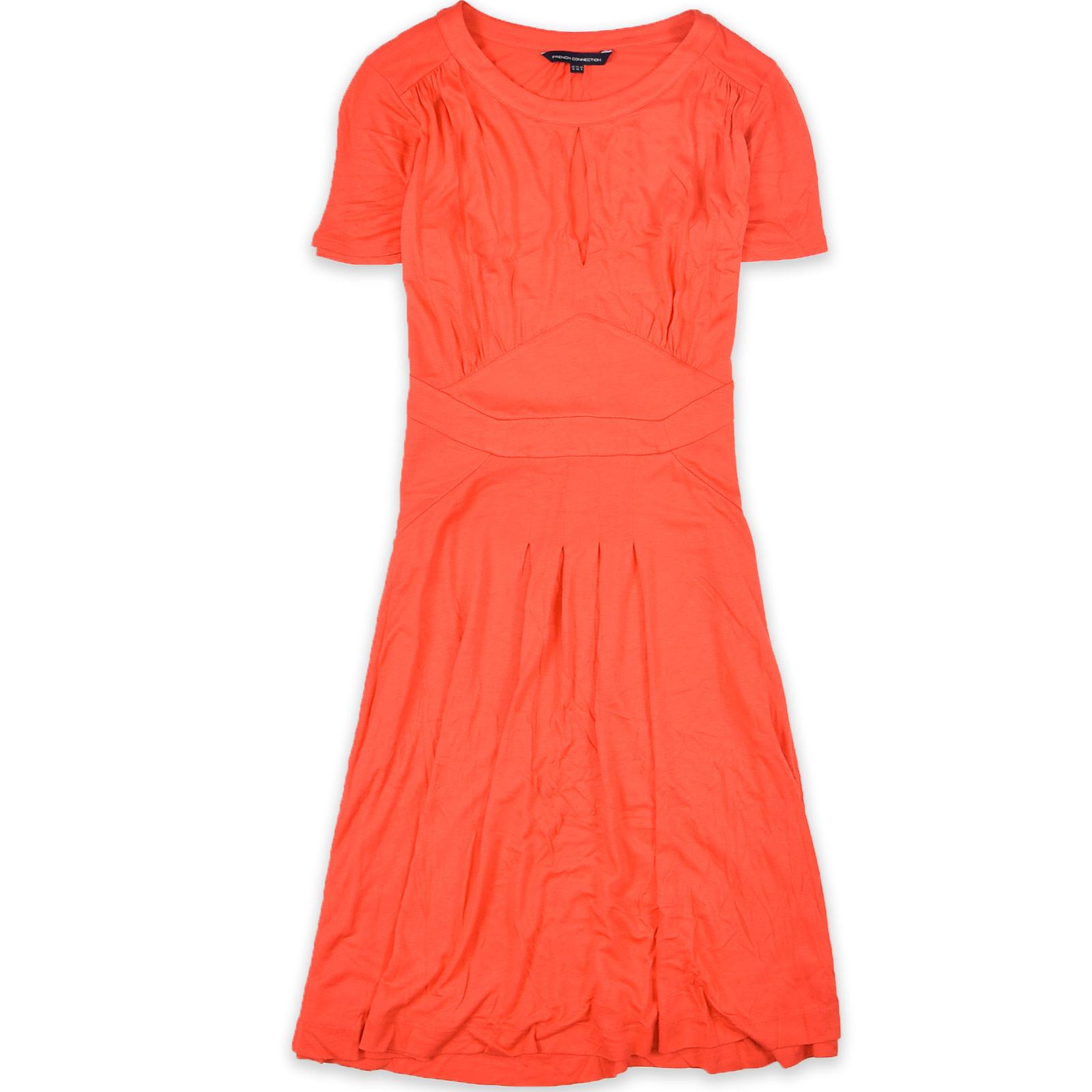 French Connection Damen Kleid Dress Aliniekleid Gr40