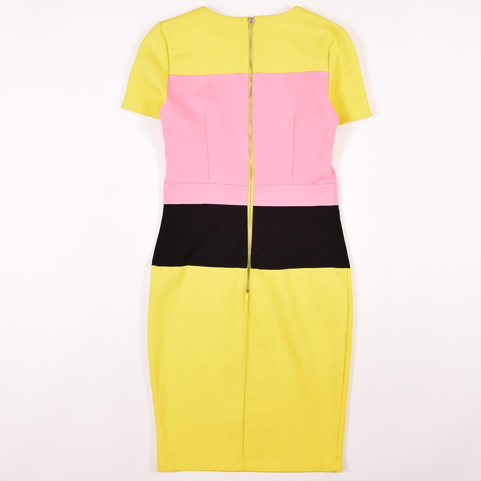 French Connection Damen Kleid Dress Etuikleid Gr38
