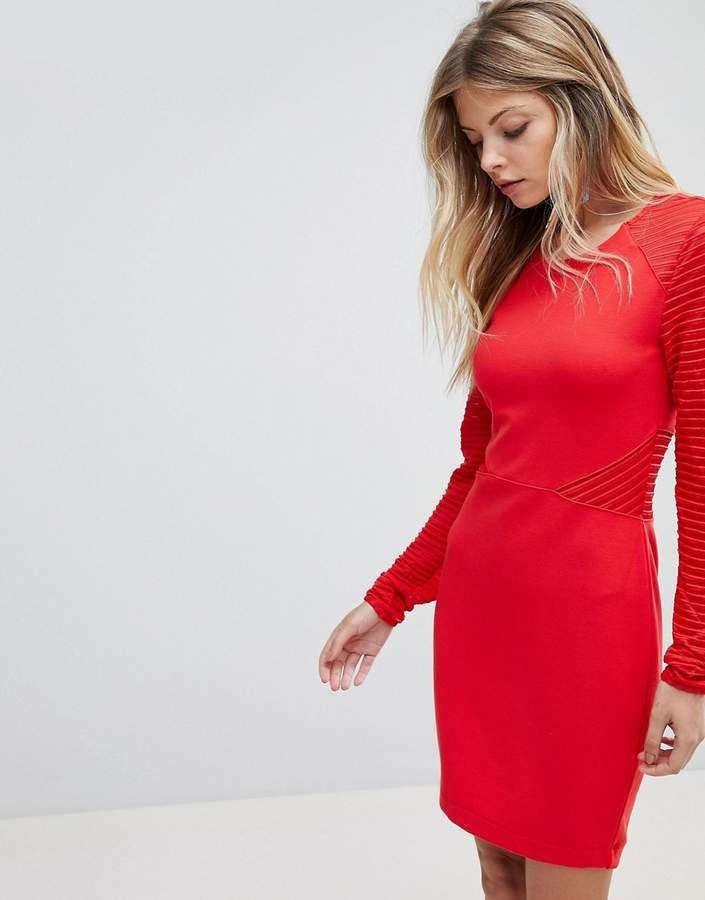 French Connection  Figurbetontes Jerseykleid Mit Bahnen