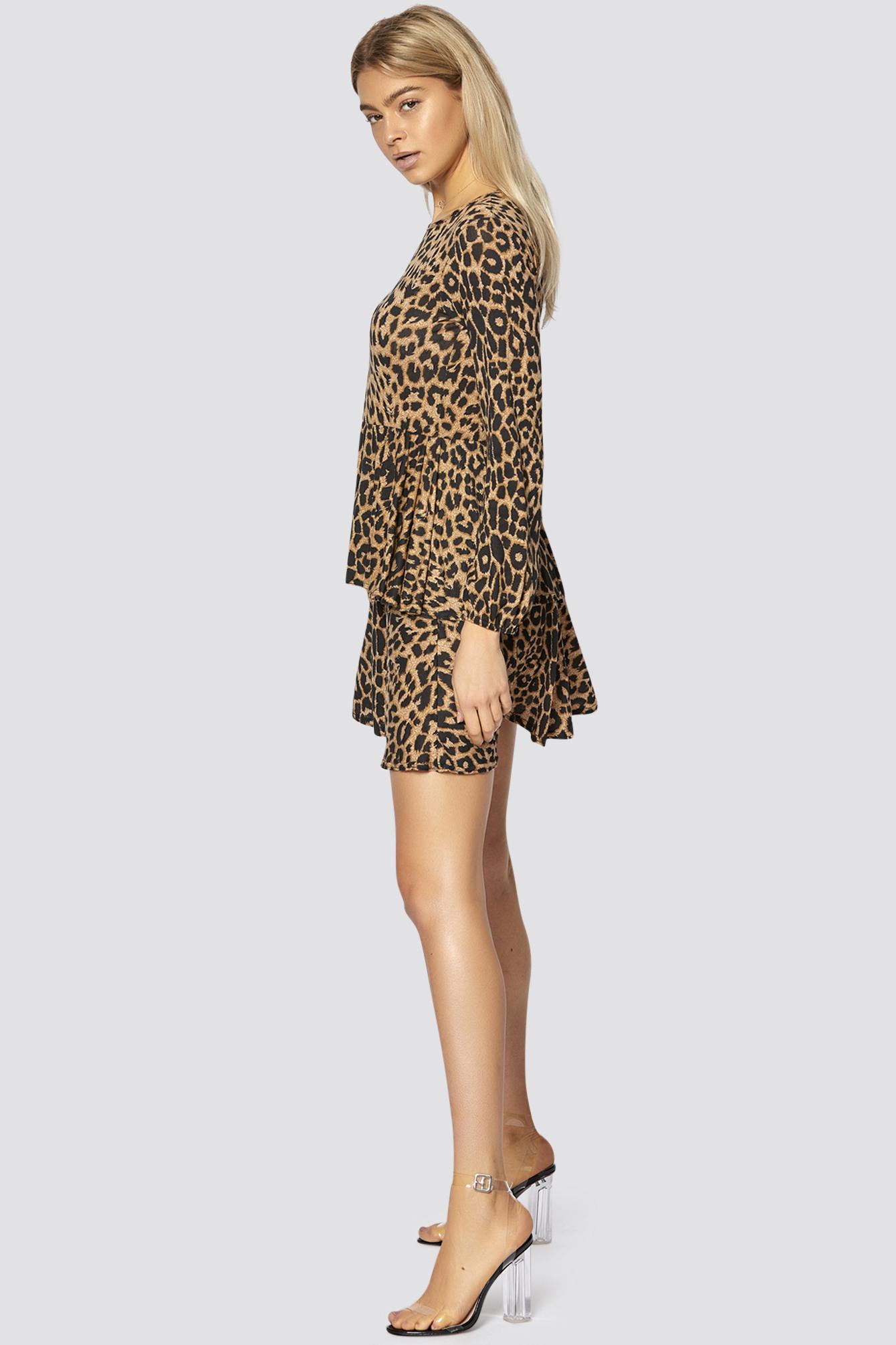 Freshlions  Kleid Mit Leoparden Muster