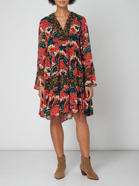Frogbox Kleid Mit Trompetenärmeln In Rot Online Kaufen