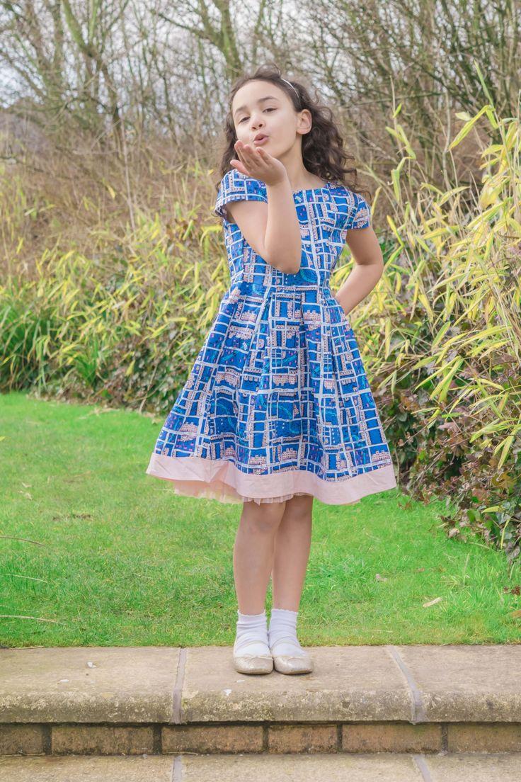 Frühling Sommer Mode Yumi Kleid Mädchen Mode Mädchen