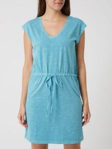Gant Kleid Aus Baumwolle In Blau / Türkis Online Kaufen