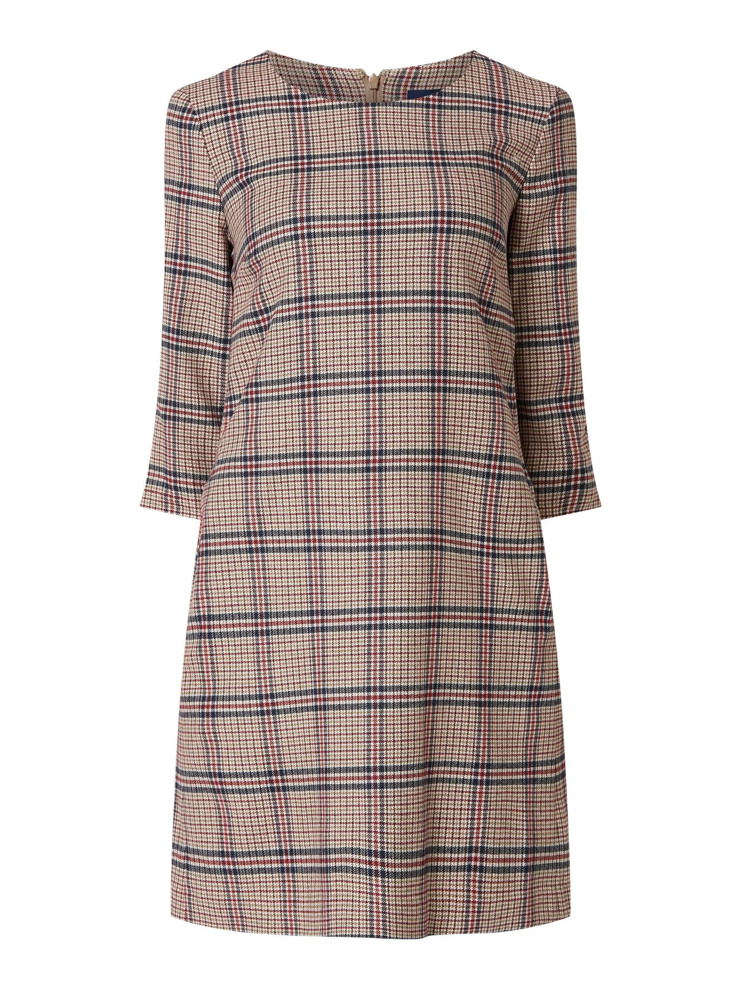 Gant Kleid Mit Glencheck In Weiß Online Kaufen 4032254 P