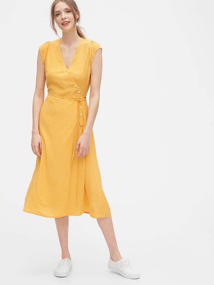 Gap Kleid In Gelb Günstig Kaufen  Limango