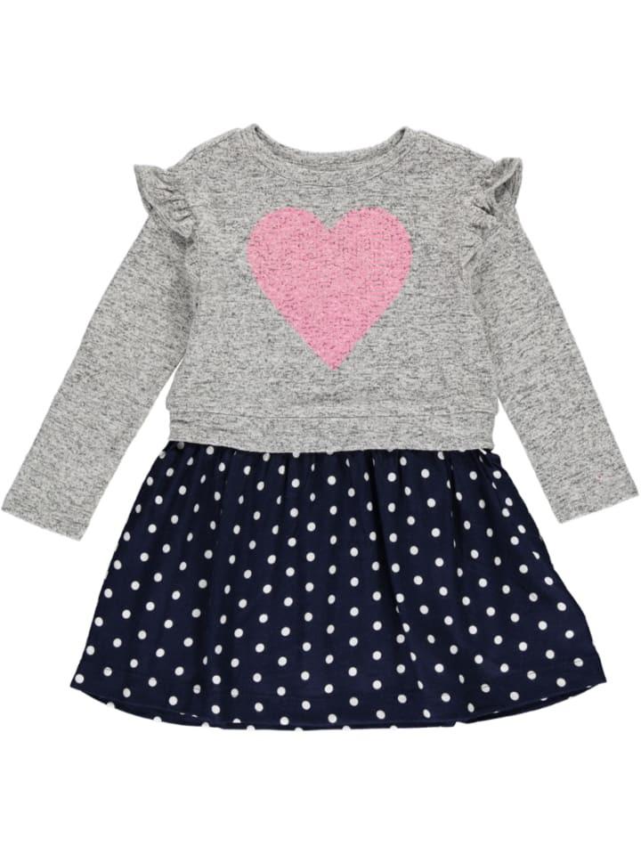 Gap Kleid In Grau/ Dunkelblau Günstig Kaufen  Limango