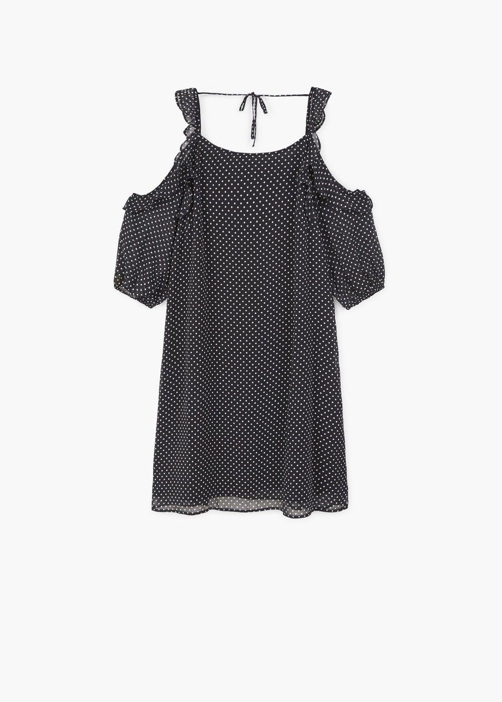 Geblümtes Coldshoulder Kleid  Damen  Kleider Für Frauen