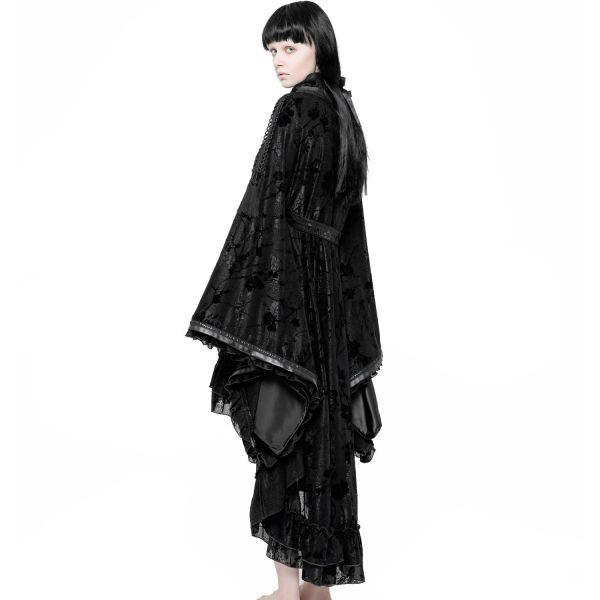 Geisha Kimono Kleid Im Dark Romantic Look  Voodoomaniacs