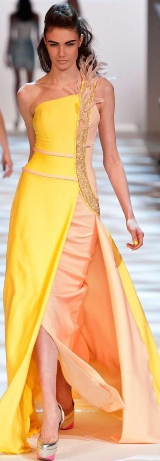 Gelbe Hochzeits  Kleider  Sehnsucht Yellows 2124317