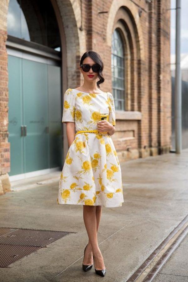 Gelbes Kleid  Die Trendfarbe 2015 Ist Gelb  Archzine