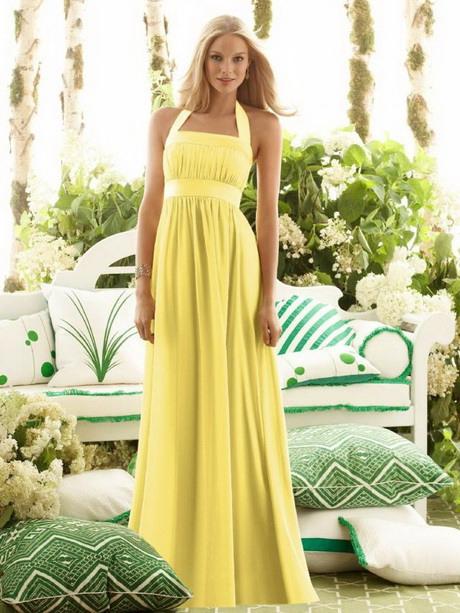 Gelbes Kleid Für Hochzeit