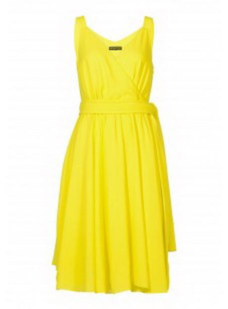 Gelbes Sommerkleid