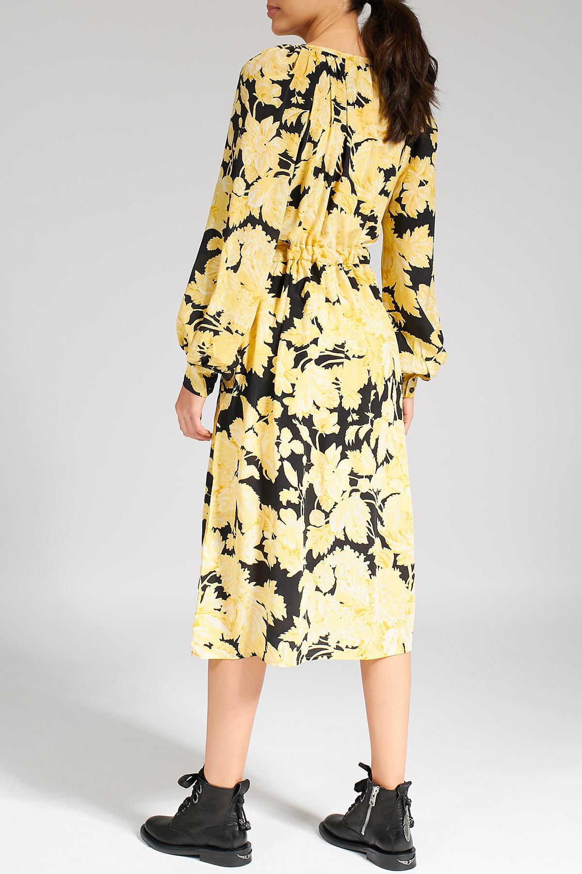 Gemustertes Kleid Lydia Aus Seide  Stine Goya