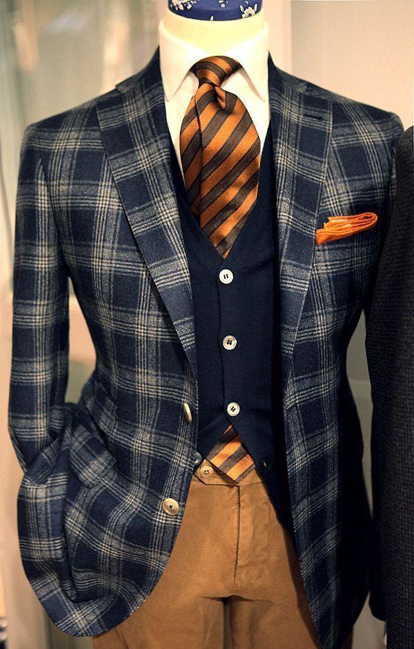 Gentleman Style  Anzug Mode Männer Outfit Herren Outfit