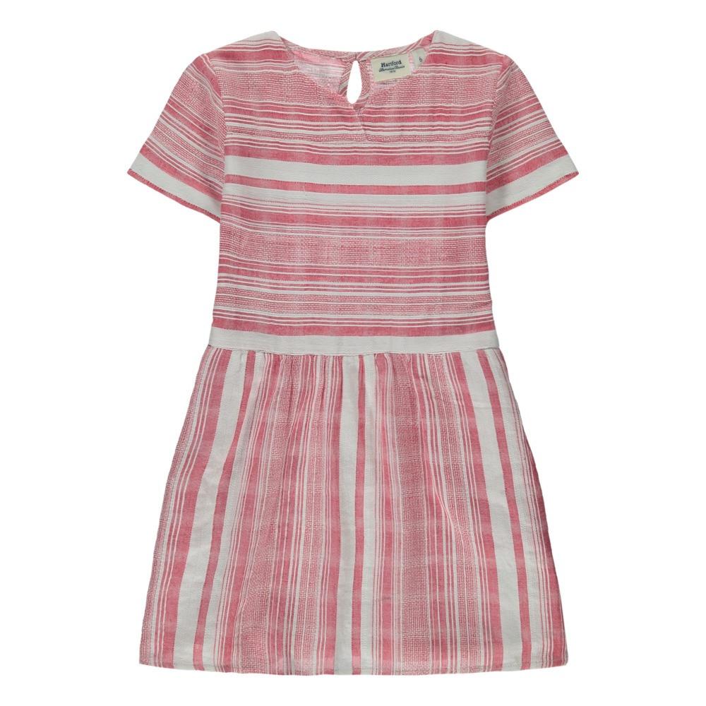 Gestreiftes Kleid Raya Rot Hartford Mode Teenager  Kind