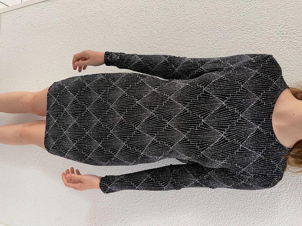 Glitzer Kleid Mit Rückenausschnitt  Kaufen Auf Ricardo