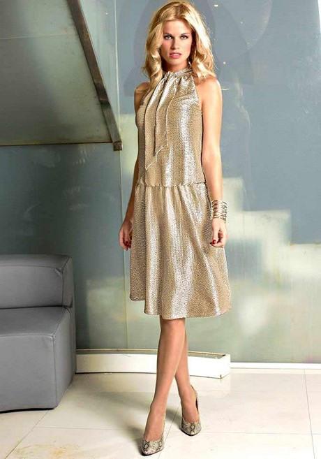 Gold Kleid