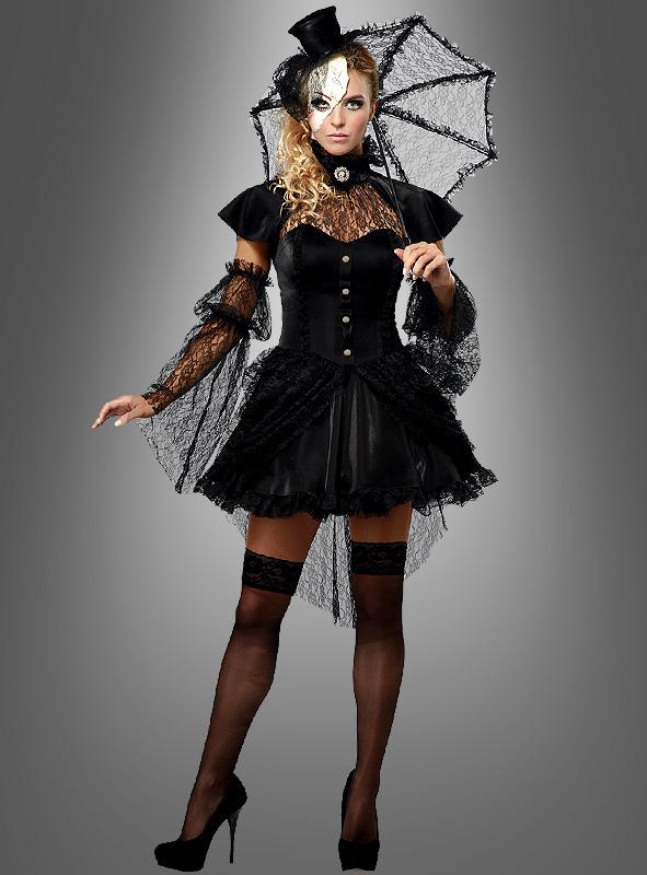 Gothic Kleid Für Damen Bei Kostümpalastde